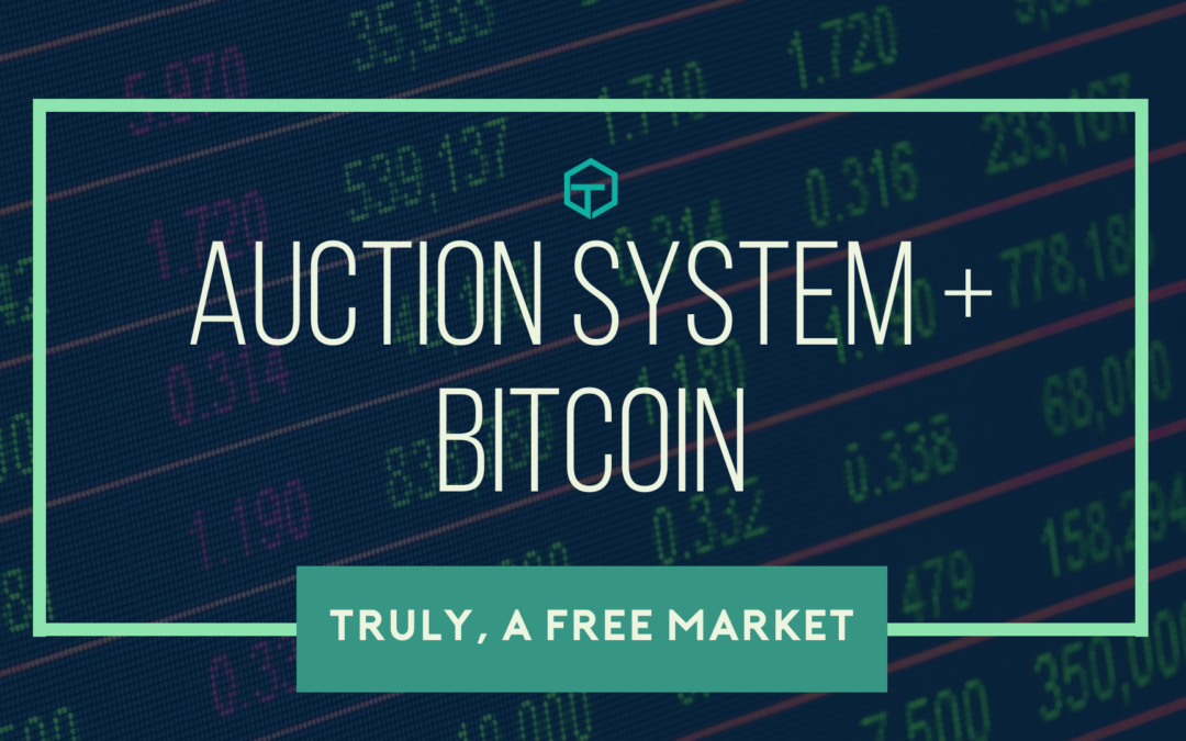 Auction System and Bitcoin