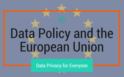 Data Policy and the European Union